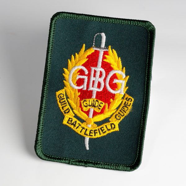 Guild of Battlefield Guides - Accredited Members sew on badge