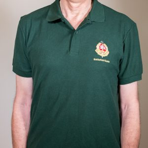Polo Shirt - Accredited member. Guild of Battlefield Guides.